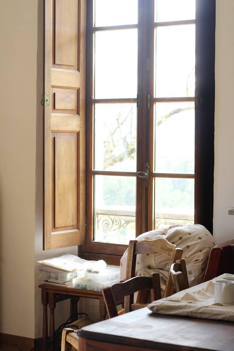 Fenêtre de la villa